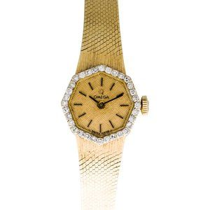OMEGA 14K STAMPED CLASSIC WATCH